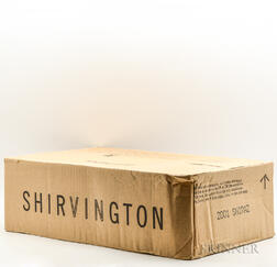 Shirvington Shiraz 2001, 12 bottles (oc)