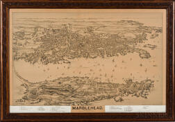 Aerial View of Marblehead, Massachusetts