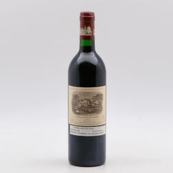 Chateau Lafite Rothschild 1986, 1 bottle