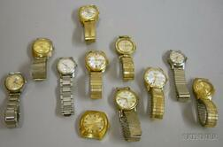 Eleven Mostly Automatic and Shock Resistant Men's Wristwatches