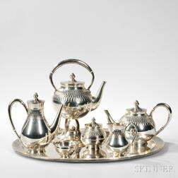 Spanish Silver Coffee and Tea Service
