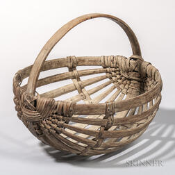 Ash Splint Potato Basket