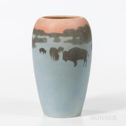 Rookwood Pottery Scenic Vase