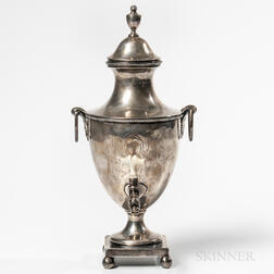 George III Sterling Silver Tea Urn