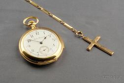 18kt Gold Minute Repeating Open Face Pocket Watch, Bigelow Kennard & Co., of Boston