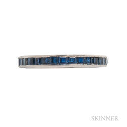 Platinum and Sapphire Eternity Band, Tiffany & Co.