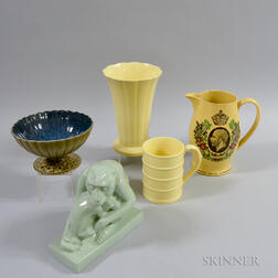 Five Wedgwood Items