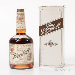 Berghoff Private Reserve 10 Years Old, 1 750ml bottle (oc)
