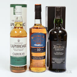 Mixed Islay, 3 750ml bottles (1oc, 1 ot)