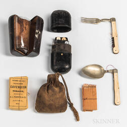 Group of Civil War-era Personal Items