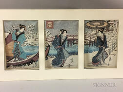 Reproduction Woodblock Prints