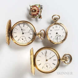 Three Lady's Pocket Watches