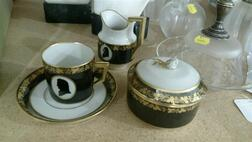 Royal Copenhagen Porcelain Coffee Service