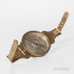 Thomas Whitney No. 545 Vernier Compass
