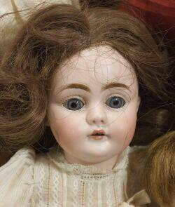 Small Kestner Bisque Head Doll