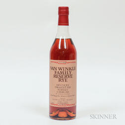 Van Winkle Family Reserve Rye 13 Years Old, 1 750ml bottle