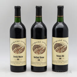 Diamond Creek 1983, 3 bottles