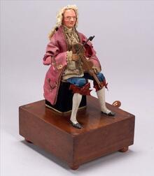 Early Manivelle Automaton of a Violin-Player by Theroude