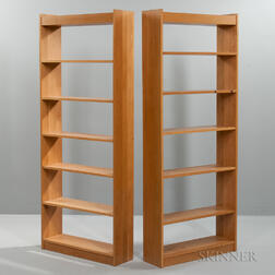 Pair of Charles Webb Bookshelves