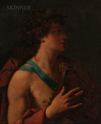 Continental School, 18th Century      Apollo with His Lyre