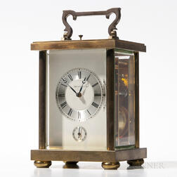 Tiffany Brass Carriage Clock