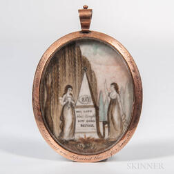William Mc Clement Mourning Pendant