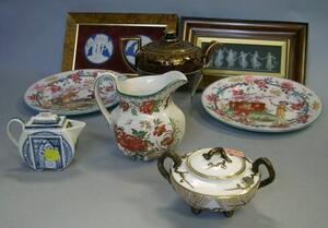 Eight Assorted Wedgwood Decorated Ceramic Items