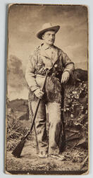 Photograph of an Armed Westerner