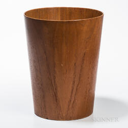 Sewer for International Design Group Teak Wastebasket