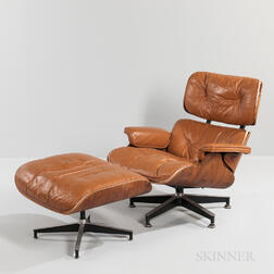 Ray and Charles Eames for Herman Miller Lounge Chair and Ottoman