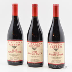 William Selyem   Russian River Valley Pinot Noir   2015