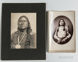 Two Photographs of American Indians