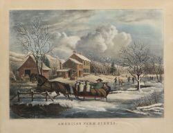 Nathaniel Currier, publisher (American, 1813-1888)  AMERICAN FARM SCENES.  NO. 4