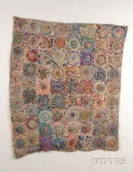 Pieced Cotton Coverlet