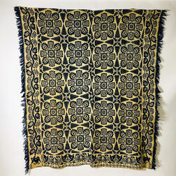 Two Ohio Woven Coverlets