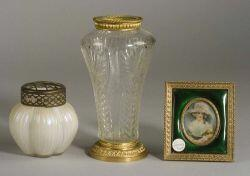 Three French Decorative Articles
