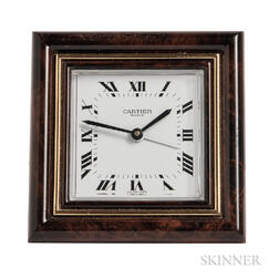 Desk Clock, Cartier