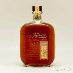 Jefferson's President Select 18 Years Old   1991