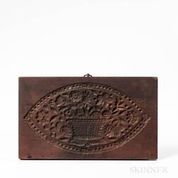 Carved Mahogany Cookie Board