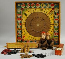 Group of Miscellaneous Toys and Games