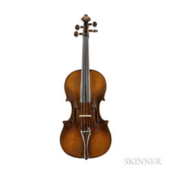 French Violin, Ascribed to Charles Claudot