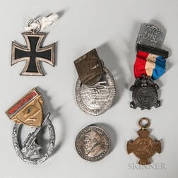 Group of Medals