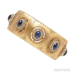 18kt Gold and Sapphire Bracelet, Buccellati