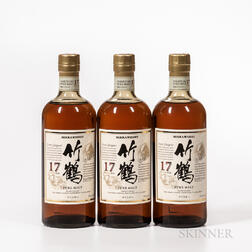Nikka Taketsuru 17 Years Old, 3 750ml bottles Spirits cannot be shipped. Please see http://bit.ly/sk-spirits for more info.
