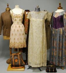 Large Group of Vintage and Designer Women's Clothing and Accessories