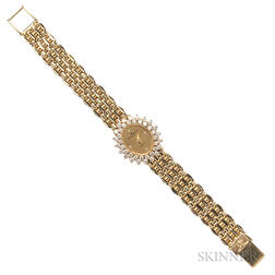 Lady's 14kt Gold Watch, Baume & Mercier