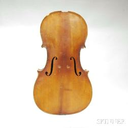 German Violoncello Body