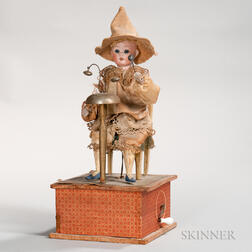 Bell-playing Automaton Figure