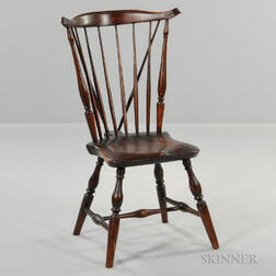 Braced Fan-back Windsor Side Chair