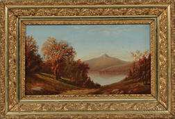 American School, Mid-19th Century      View of Mount Chocorua, New Hampshire